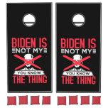 Biden Not My Cornhole Set