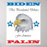 Biden Palin VP Debates Poster