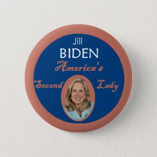 Biden Second Lady Button