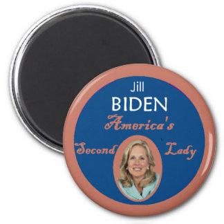 Biden Second Lady Magnet