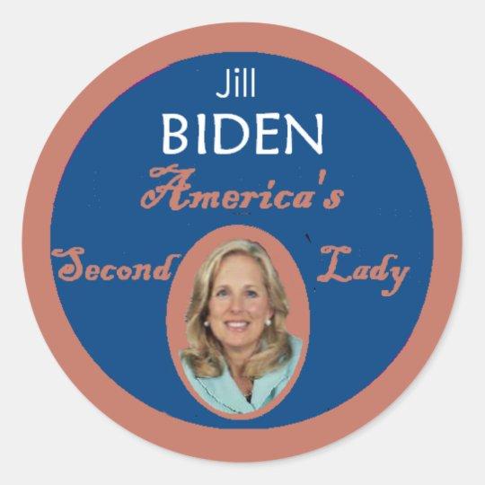 Biden Second Lady Sticker
