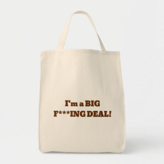 Biden should forget healthcare, I'm the big deal Tote Bag