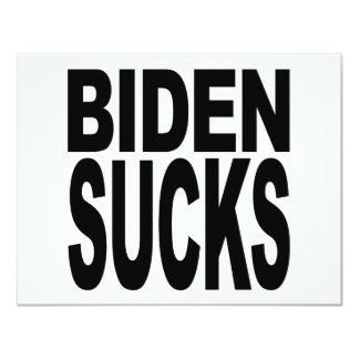 Biden Sucks Card