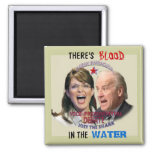 Biden v. Palin Square Magnet Refrigerator Magnet