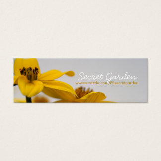 Bidens - Floral Photography - Business cards