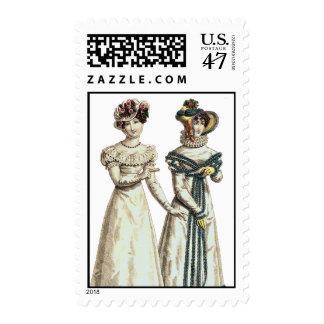 Biedermeier Women's Fashions - Postage Stamp