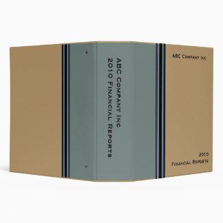 biege grey business vinyl binder