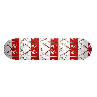 Biel Family Crest Custom Skateboard