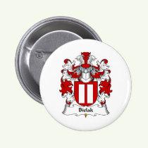 Bielak Family Crest Button
