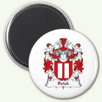 Bielak Family Crest Magnet