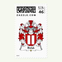 Bielak Family Crest Stamps