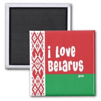Bielorrusia 2011 imán de frigorifico