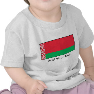 Bielorrusia - bandera bielorrusa camiseta