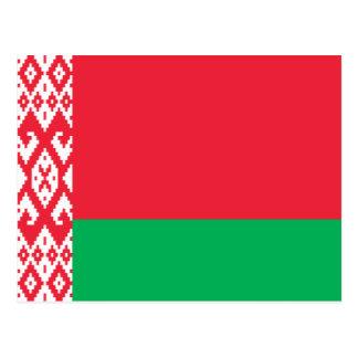 Bielorrusia - bandera bielorrusa postales