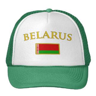 Bielorrusia de oro gorros bordados