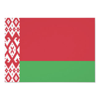 """Bielorrusia Invitación 5"""" X 7"""""""