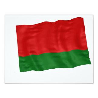 """bielorussia invitación 4.25"""" x 5.5"""""""