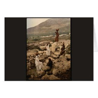 Bien del samaritano (Shechem), Napulus, santo Tarjetón