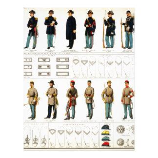 Bien's Civil War Uniforms (1895) Letterhead Template