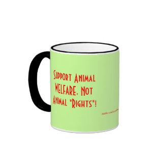 """¡BIENESTAR animal de la ayuda, las """"derechas no Taza De Dos Colores"""
