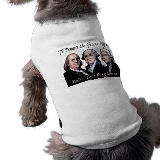 Bienestar general ropa de perro