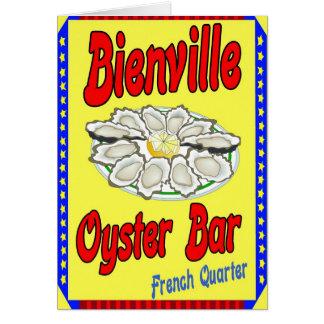 Bienville Oyster Bar Card