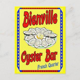 Bienville Oyster Bar postcard