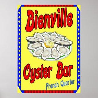 Bienville Oyster Bar print