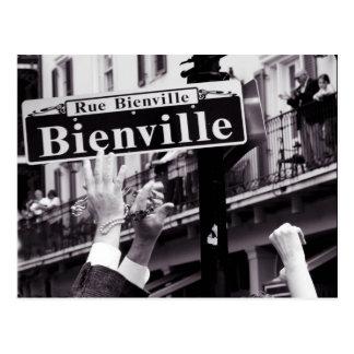 ¡Bienville! Tarjeta Postal