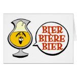Bier. Biére. Bier. Cards