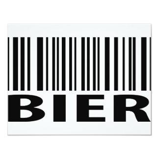 Bier code icon card