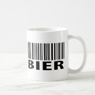 Bier code icon coffee mug