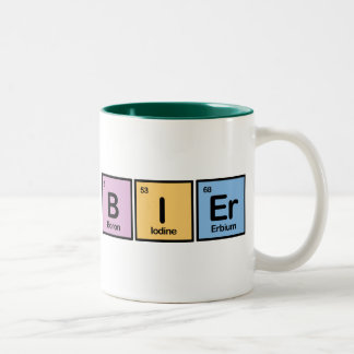 Bier made of Elements Two-Tone Coffee Mug