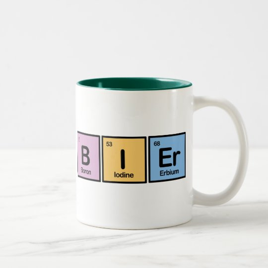 Bier made of Elements Two-Tone Coffee Mug