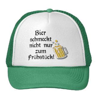Bier schmeckt nicht nur zum Frühstück! Trucker Hat