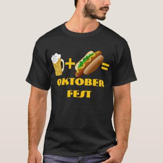 Bier und Wurst T-Shirt