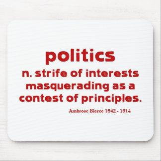 Bierce on Politics Mouse Pad