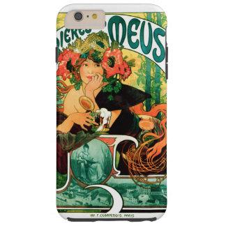 Bieres de la Meuse Alphonse Mucha Art Tough iPhone 6 Plus Case