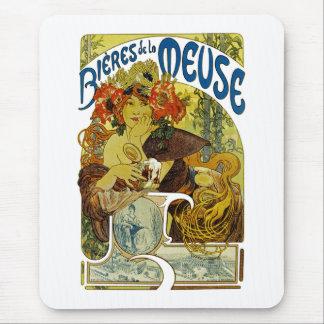 Bieres de la Meuse Mouse Pad