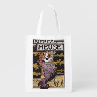Bieres de la Meuse Promotional Poster Reusable Grocery Bag