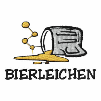 """BIERLEICHEN """"Beer Corpse"""" Embroidered Polo"""