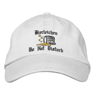 """Bierleichen """"Drunk"""" Do Not Disturb Embroidered Cap Embroidered Hats"""