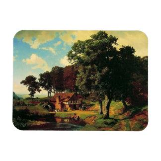 Bierstadt Albert, A Rustic Mill Magnet