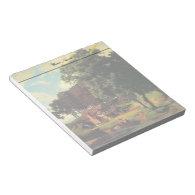 Bierstadt Albert, A Rustic Mill Memo Notepad