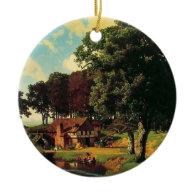 Bierstadt Albert, A Rustic Mill Ornament