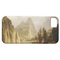 Bierstadt Albert Merced River Yosemite Valley iPhone 5 Covers