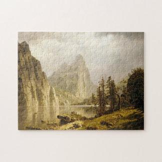 Bierstadt Albert Merced River Yosemite Valley Jigsaw Puzzle