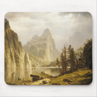 Bierstadt Albert Merced River Yosemite Valley Mouse Pad