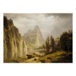 Bierstadt Albert Merced River Yosemite Valley Poster