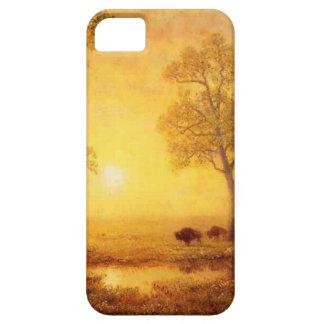Bierstadt Albert Sunset on the Mountain iPhone SE/5/5s Case